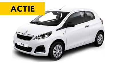 Mega flexlease actie: Peugeot 108