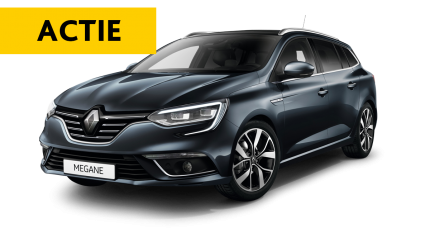 Mega flexlease actie: Renault Mégane estate
